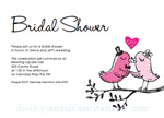 printable bridal shower invitations
