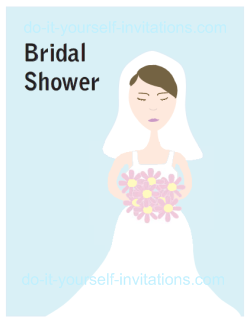 printable bridal shower invitations Printable Free Wedding Shower Invitations