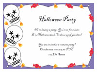 halloween party invitation templates printable