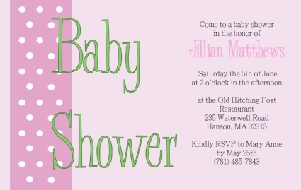 Exceptional Free Printable Baby Shower Invitations. Printable Pink Polka Dots Baby  Shower Invitation Template On Free Downloadable Baby Shower Invitations Templates
