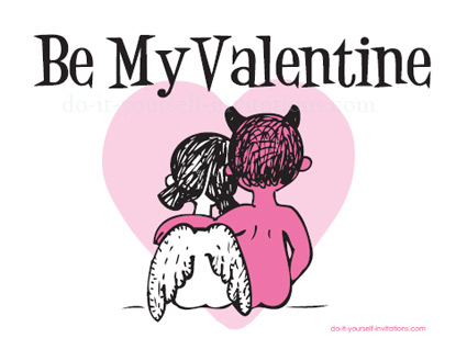 printable valentines day postcards, Ideas