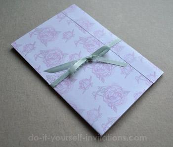printable pocket wedding invitations