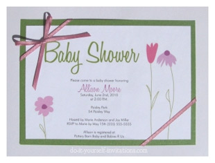 Baby Picture Contest Free on Cute As Can Be Baby Shower Invitation Templates And Printable Party