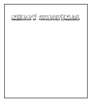 Printable Christmas Party Invitations template