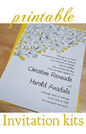 Make Your Own Wedding Invitations: Tips, Printables, and DIY Tutorials