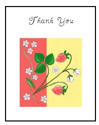 photo relating to Free Printable Thank You Card Template referred to as Absolutely free Printable Thank By yourself Playing cards