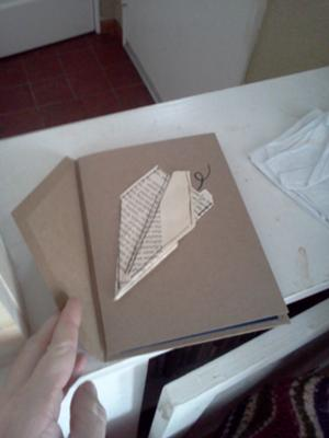 Front of the Paper Airplane Invitation