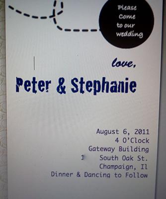 Vintage Paper Airplane Wedding Invitations