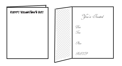 free printable valentine invitations