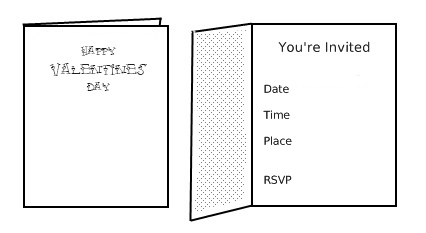 print valentines party invitations