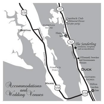 Custom wedding invitation maps black and white cutom sizing solutioingenieria Choice Image
