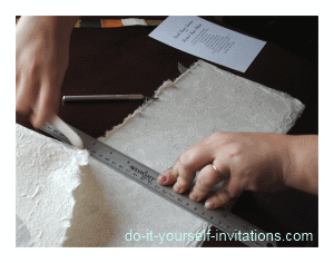 make wedding invitations