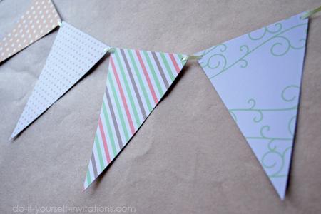 printable bunting banner