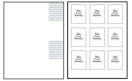 1st birthday invitations text template