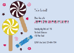 Fairy princess invitations
