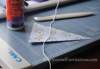 DIY printable party bunting flags