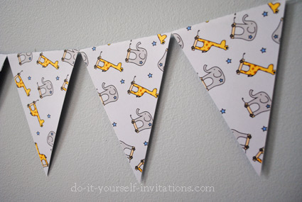 printable 3rd birthday bunting