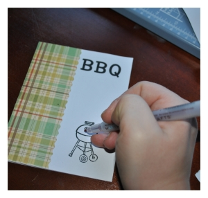 make barbecue invitations