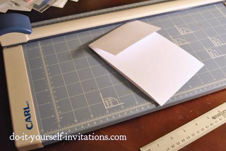make pocket invitations