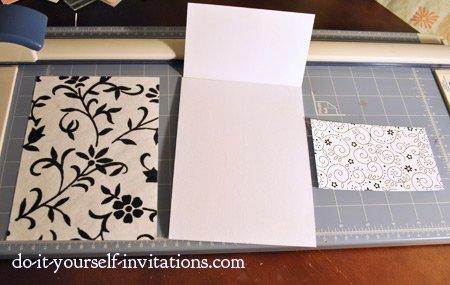 create handmade wedding invitations