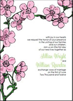 printable black and white wedding invitations templates