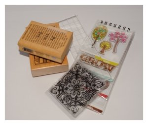 rubber stamps for card making