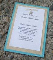 Destination wedding invitations diy and handmade beach destination wedding invitations solutioingenieria Images