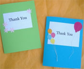 Easy DIY Thank You Card Ideas