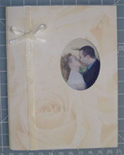 DIY wedding photo Thank You Cards