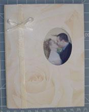 DIY wedding photo Thank You Cards