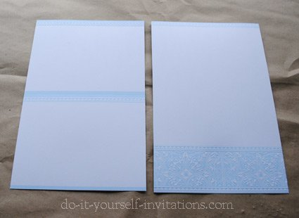 word for DIY invitations