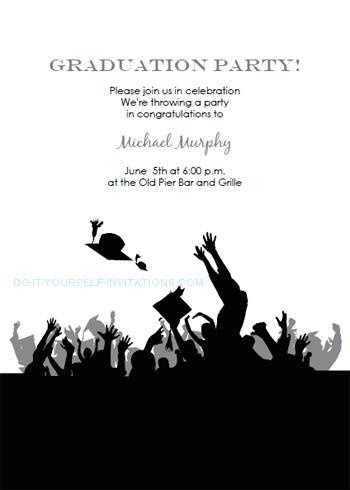 printable graduation party invitations