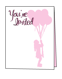 Printable Invitations Templates Make Your Own Invitations - Birthday invitation template quarter fold