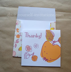 Free printable thank you cards printable thank you cards fruit m4hsunfo