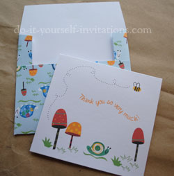 printable thank you cards fruit