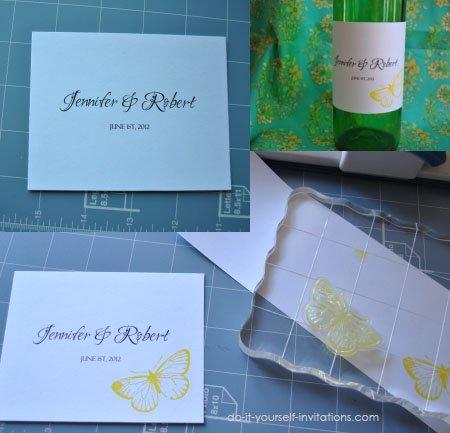 diy wedding wine labels template