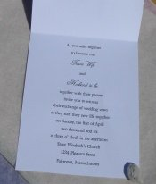 text to make your own wedding invitations