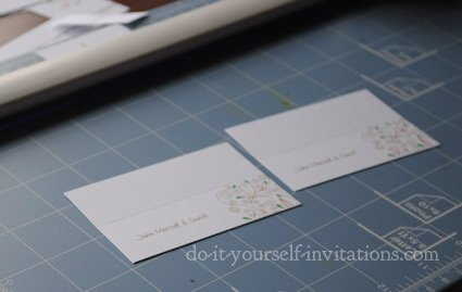 make your own place cards