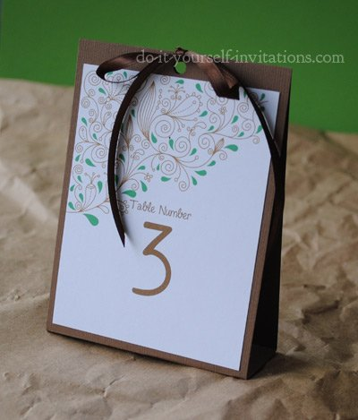 diy table numbers template