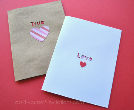make valentines template