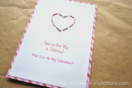 hand cut diy valentines