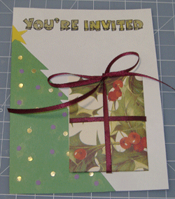 Make diy christmas party invitations christmas party invitations solutioingenieria Image collections