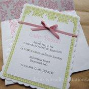 homemade easter invitations
