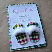 pajama Party Invitations Template