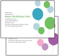Printable Kids Birthday Party Invitations