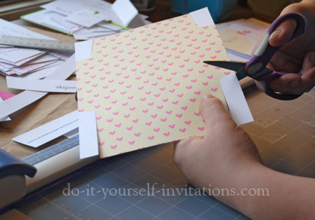 make DIY thank you cards
