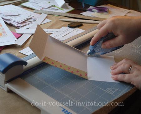 make DIY thank you cards