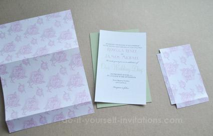 printable pocket invitations