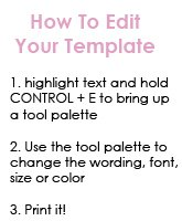 templates instructions