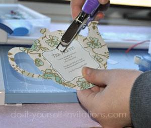 make tea party invitations